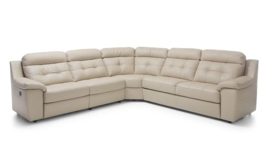 Угловой диван Toledo с электрореклайнером фото 5