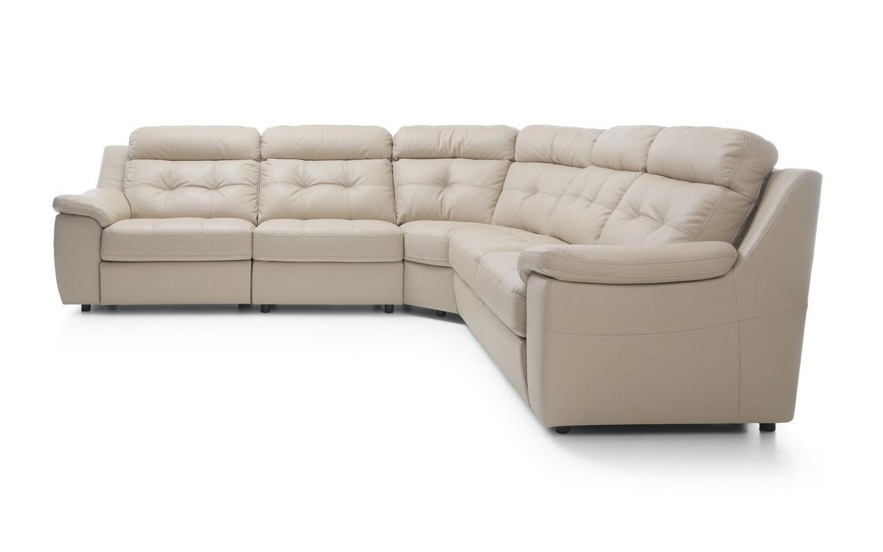 Угловой диван Toledo с электрореклайнером