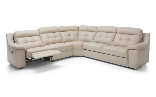 Угловой диван Toledo с электрореклайнером фото 1