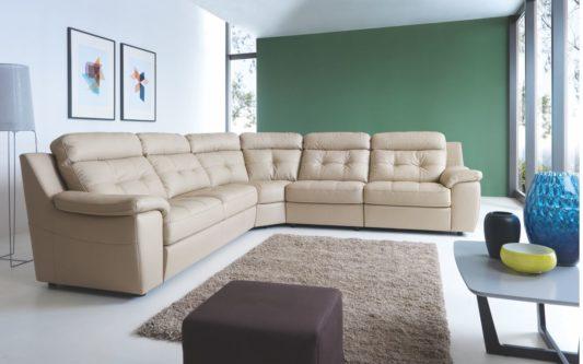 Угловой диван Toledo с электрореклайнером фото 4