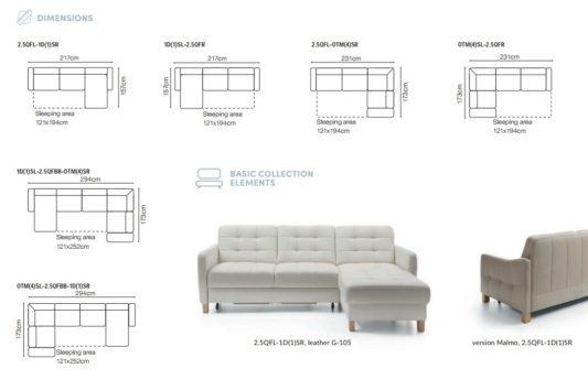Угловой диван Elio фото 11