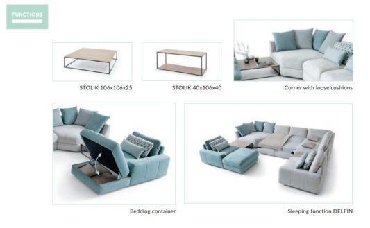 Модульный диван Serena фото 4