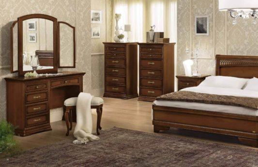 Кровать Torriani Tiziano Noce фото 3