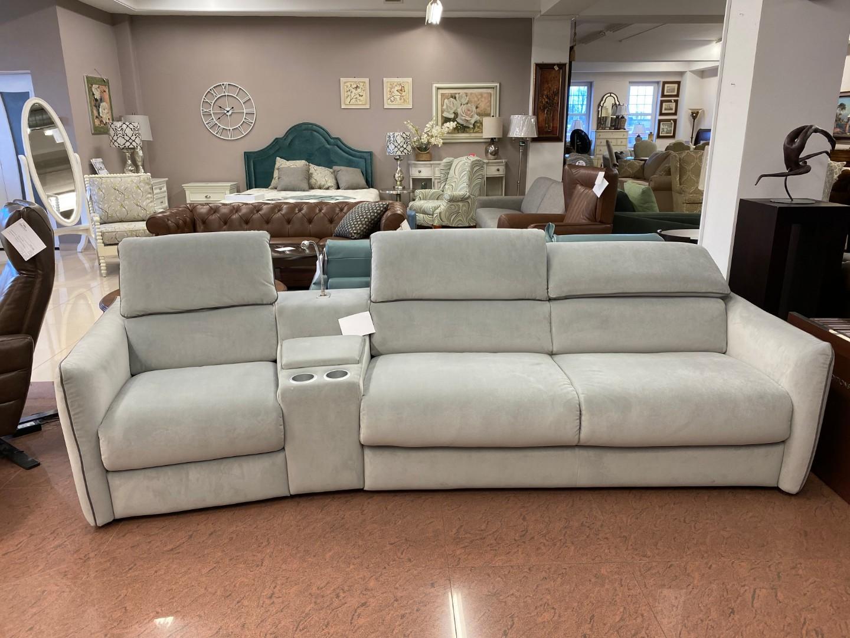 Угловой раскладной диван с реклайнером Meraviglia B995