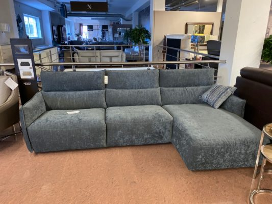 Угловой диван c электрореклайнером Stupore C027
