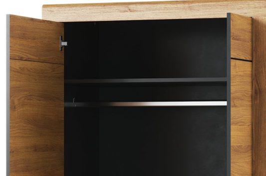 Шкаф 2-дверный Kama 70 фото 3