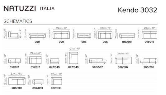 Модульный диван Kendo фото 1