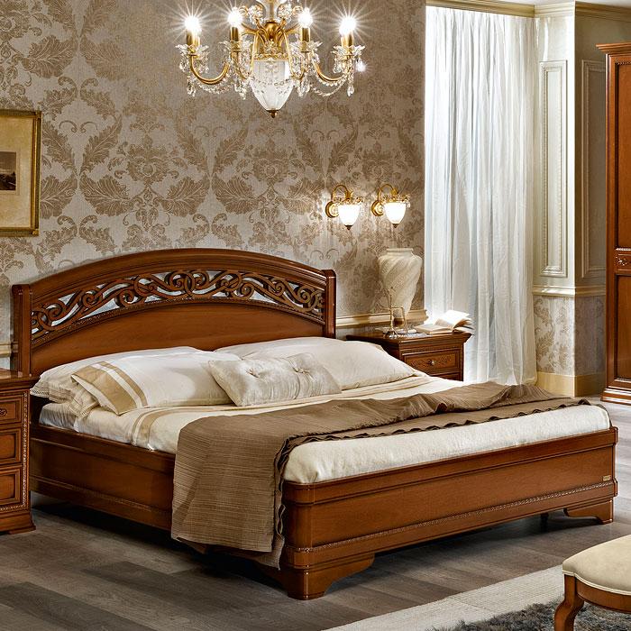 Кровать Torriani Botticelli Noce