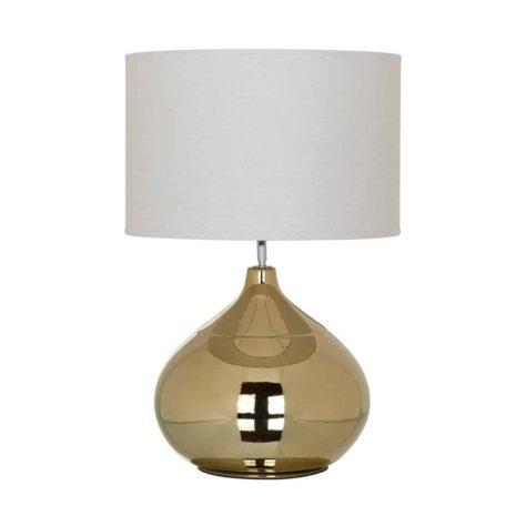 Настольная лампа Lincoln с белым абажуром