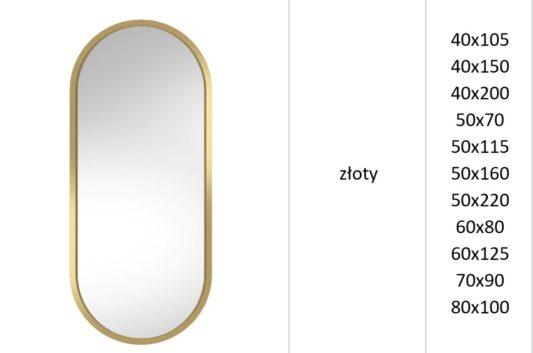 Зеркало Ambient золото фото 3