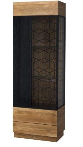Витрина 1-дверная Mosaic