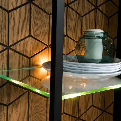 Витрина 1-дверная Mosaic фото 6