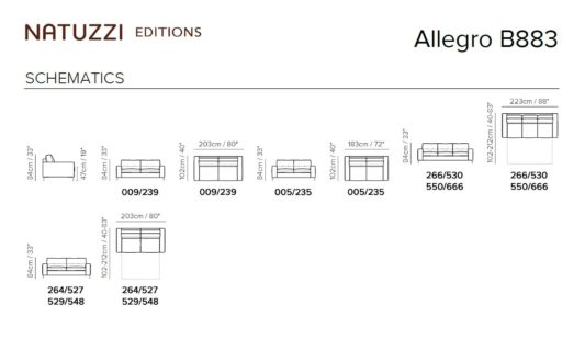 Раскладной диван Allegro B883 фото 2