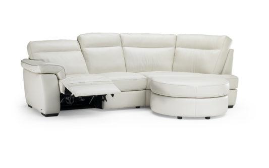 Угловой диван Brivido B757 с электрореклайнером фото 1