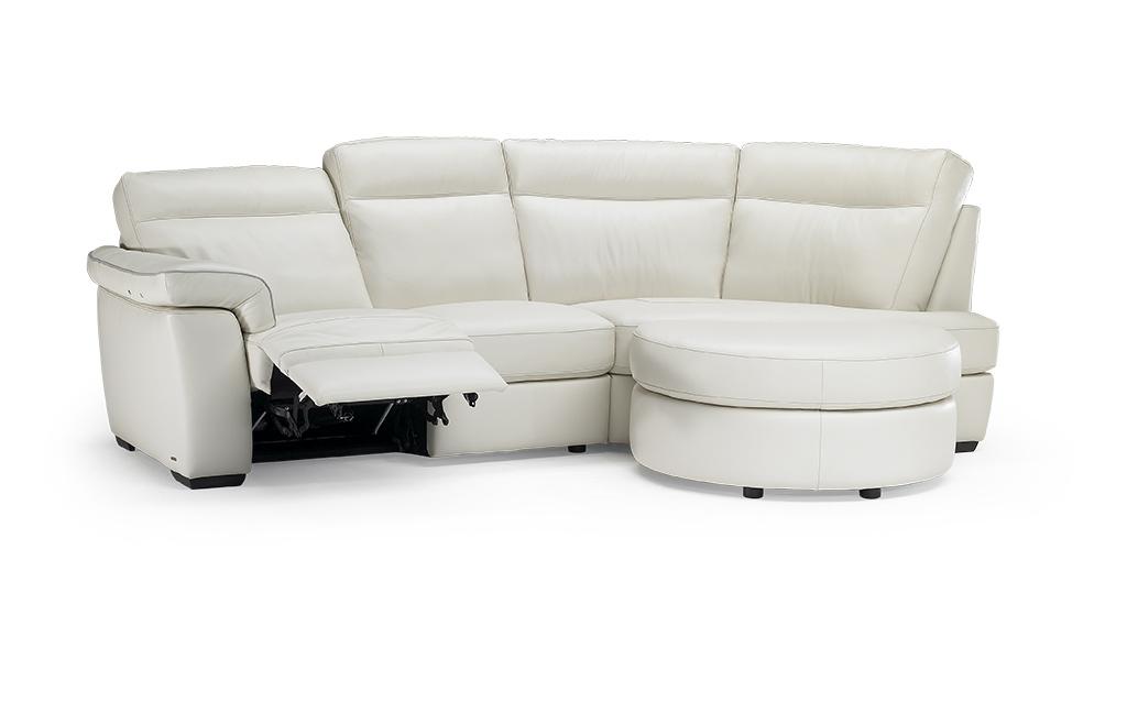 Угловой диван с электрореклайнером Brivido B757