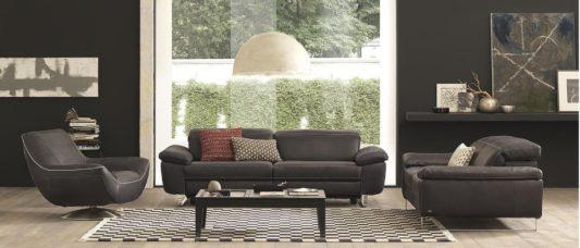 Угловой диван с реклайнером Claudio B877 фото 5