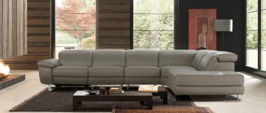 Угловой диван с реклайнером Claudio B877 фото 1