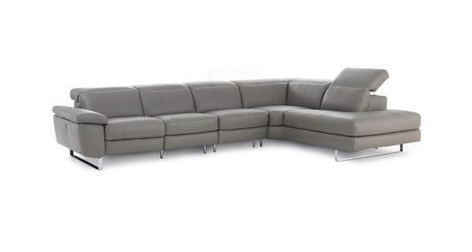Угловой диван с реклайнером Claudio B877 фото 4