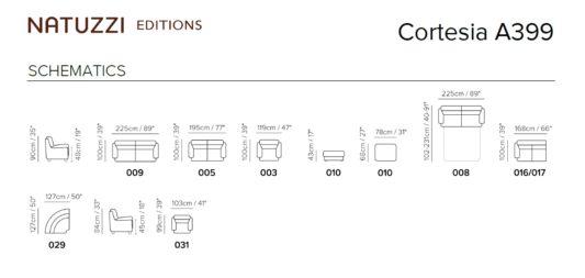 Модульный диван Cortesia A399 фото 2