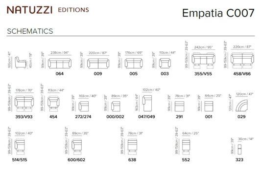 Диван модульный Empatia C007 фото 2