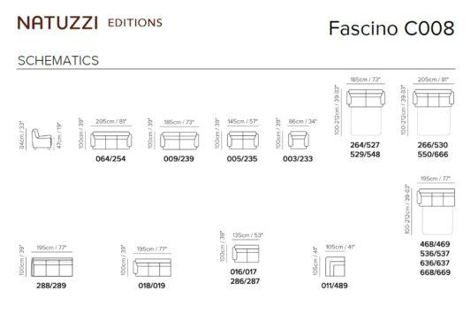 Модульный диван Fascino C008 фото 2