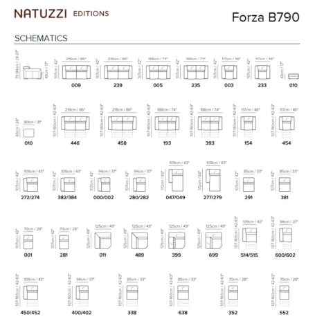 Модульный диван Forza B790 фото 2