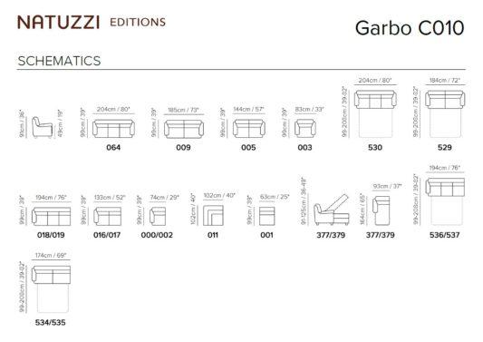 Диван раскладной Garbo C010 фото 2