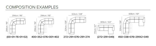 Модульный диван Gioia B901 фото 3