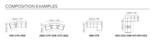 Модульный диван Meraviglia B995 фото 4