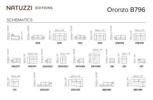 Модульный диван Oronzo B796 фото 2