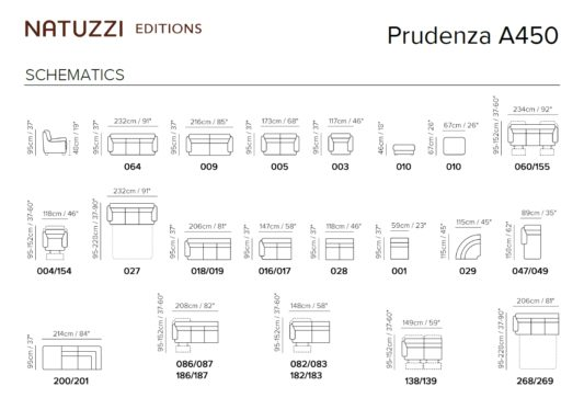 Модульный диван Prudenza A450 фото 2