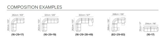 Модульный диван Prudenza A450 фото 3