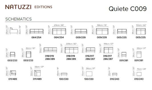 Модульный диван Quiete C009 фото 2