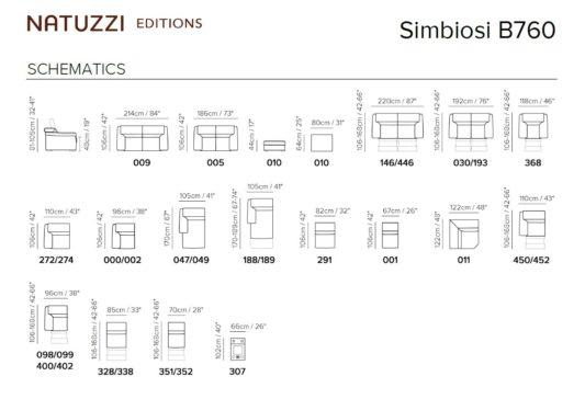 Модульный диван Simbiosi B760 фото 2