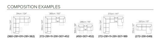 Модульный диван Simbiosi B760 фото 3
