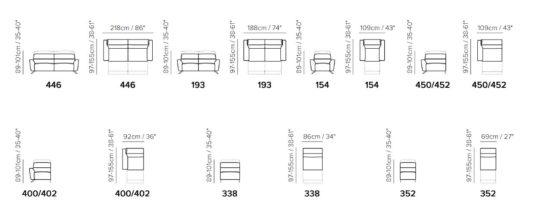 Модульный диван Sorpresa C013 фото 3