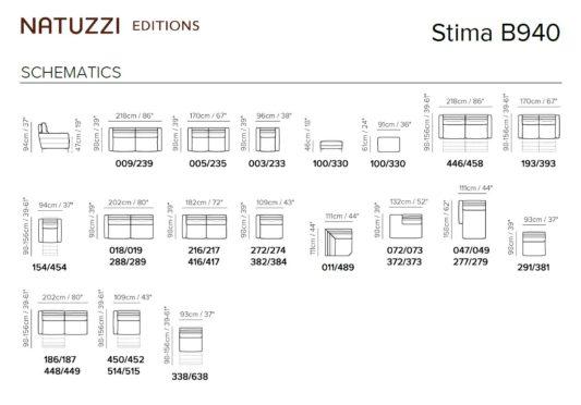 Модульный диван Stima B940 фото 2