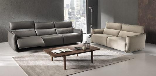 Угловой диван c электрореклайнером Stupore C027 фото 5