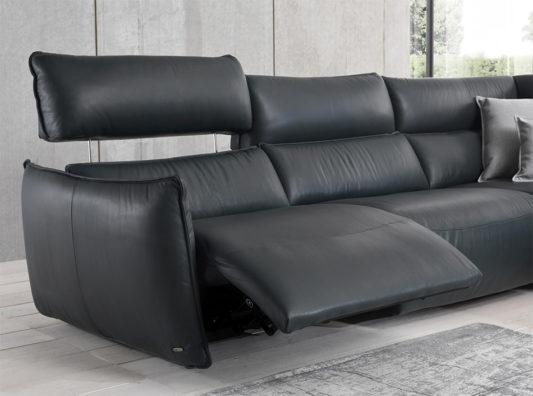 Угловой диван c электрореклайнером Stupore C027 фото 8
