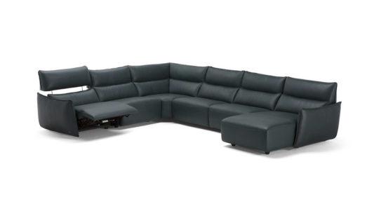 Угловой диван c электрореклайнером Stupore C027 фото 6