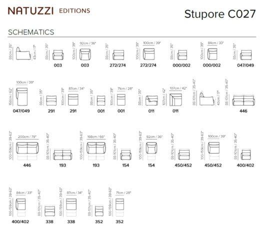 Угловой диван Stupore C027 c электрореклайнером фото 3