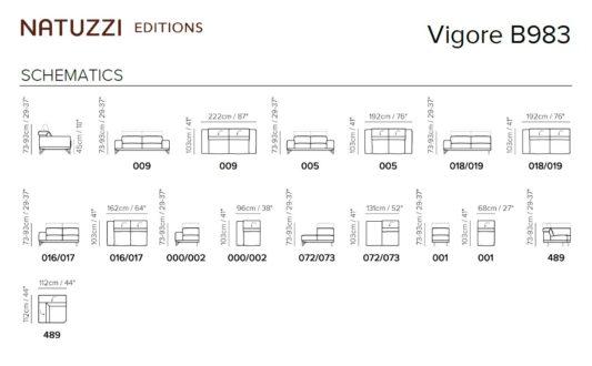 Модульный диван Vigore B983 фото 2
