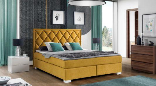 Континентальная кровать 402 фото 1