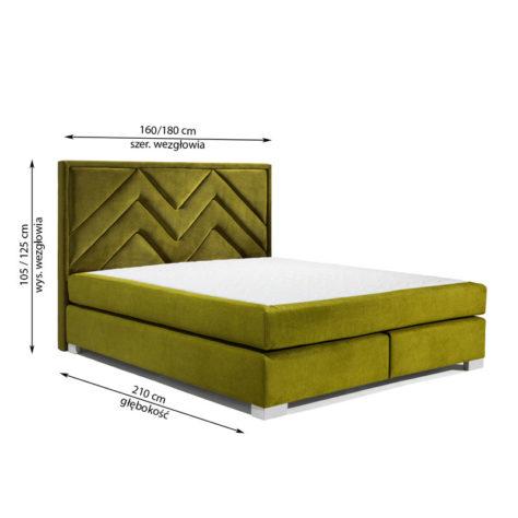 Континентальная кровать 403 фото 3