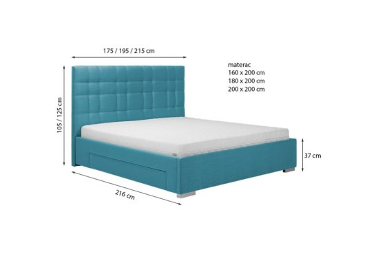 Кровать Suita фото 3