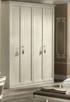 Шкаф 3-дверный Nostalgia Bianco antico