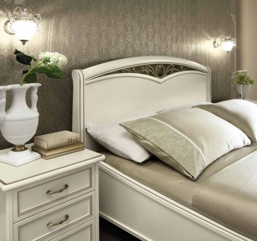Кровать Nostalgia BIANCO ANTICO фото 3