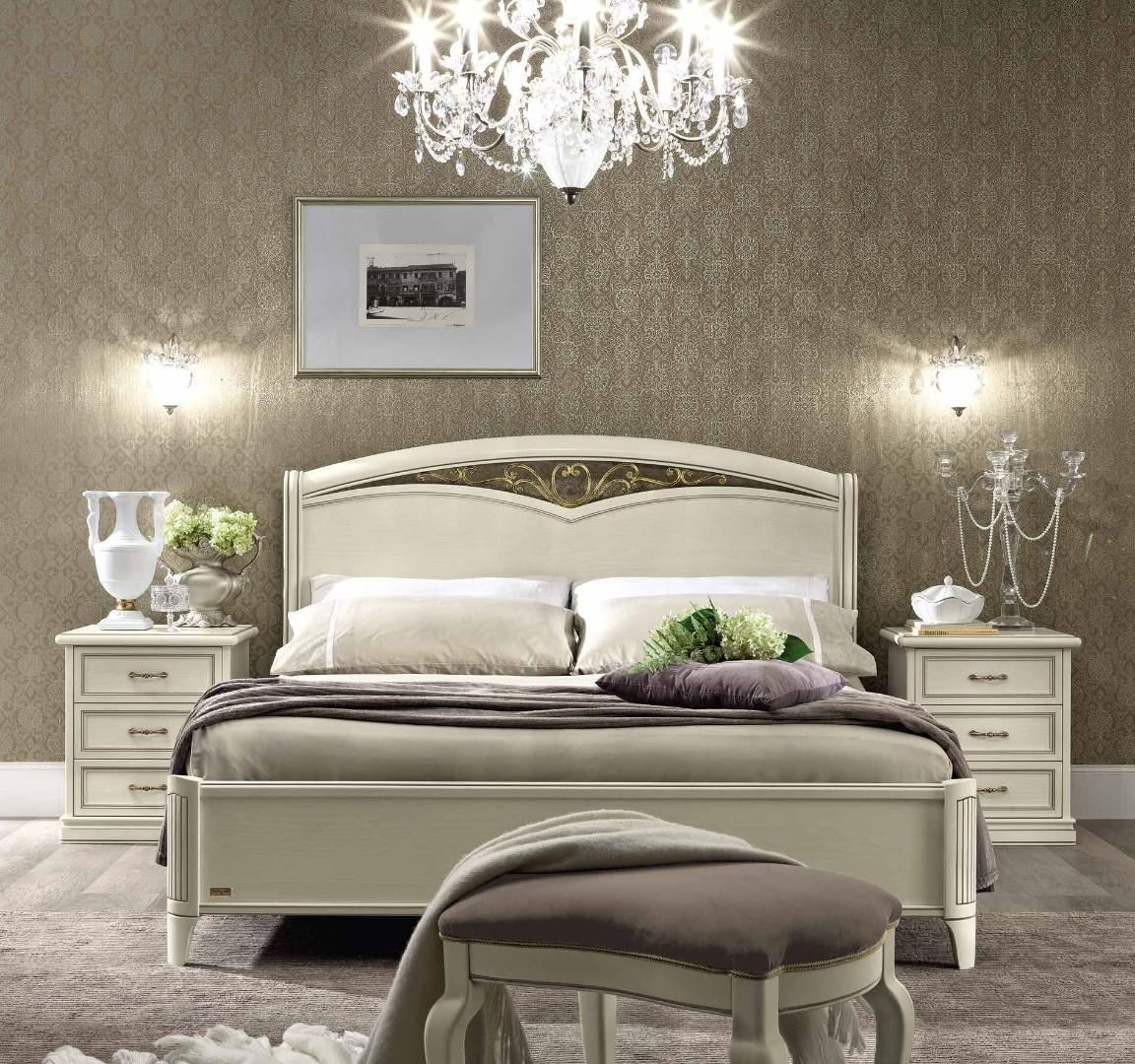 Кровать Nostalgia BIANCO ANTICO 180