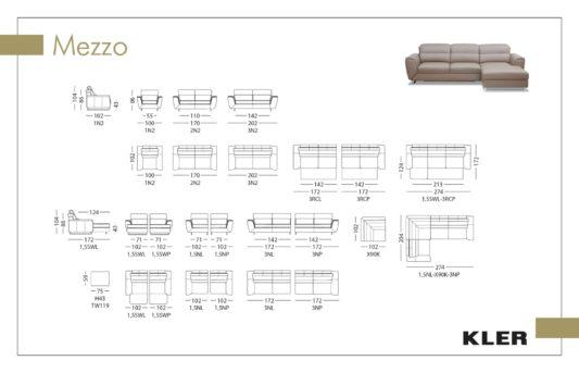 Модульный диван Mezzo W119 фото 1