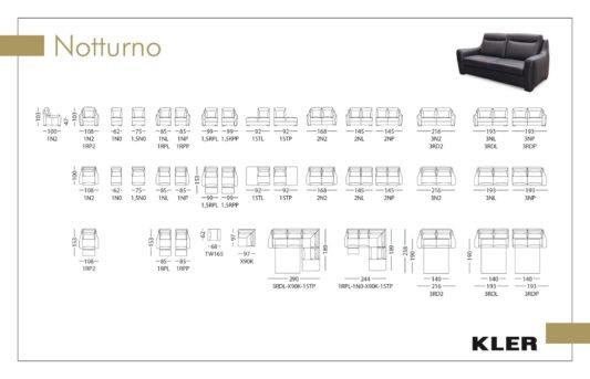 Модульный диван Notturno W165 фото 2